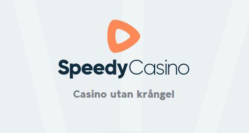 Nytt för svenska spelare - Speedy Casino Bonus