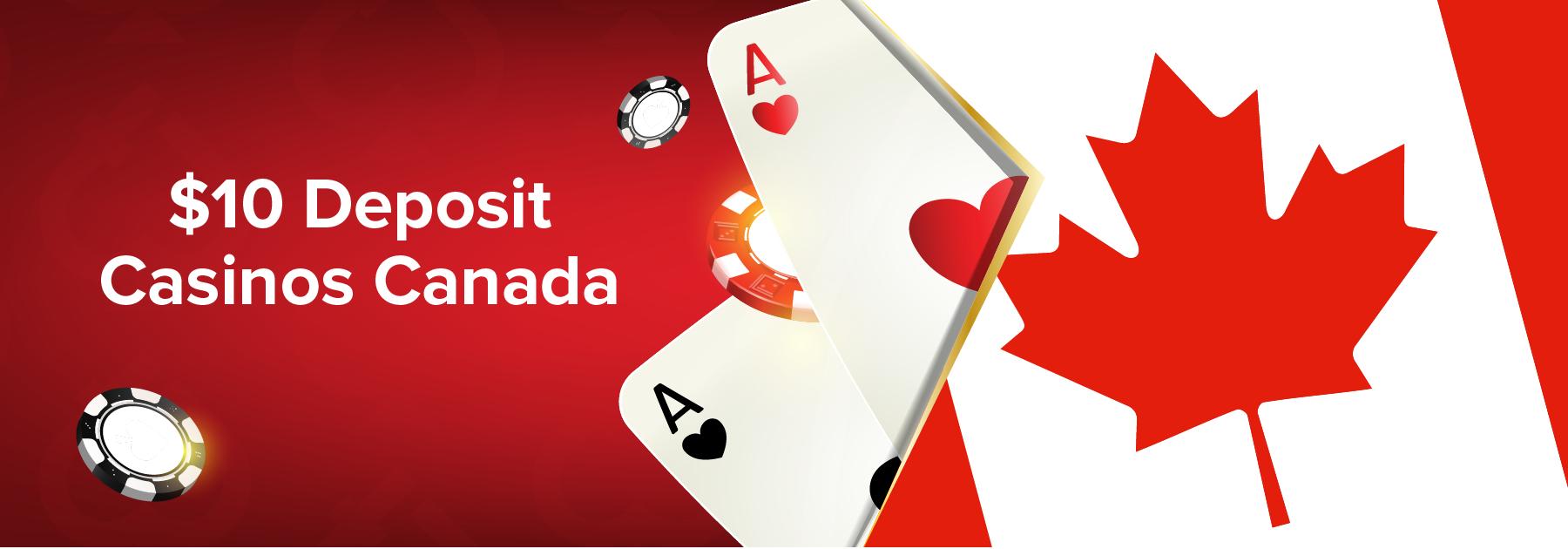 C$10 Deposit Casinos in Canada