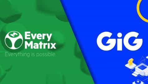 GIG amplía su presencia en la industria de los casinos online con su acuerdo con EVERYMATRIX