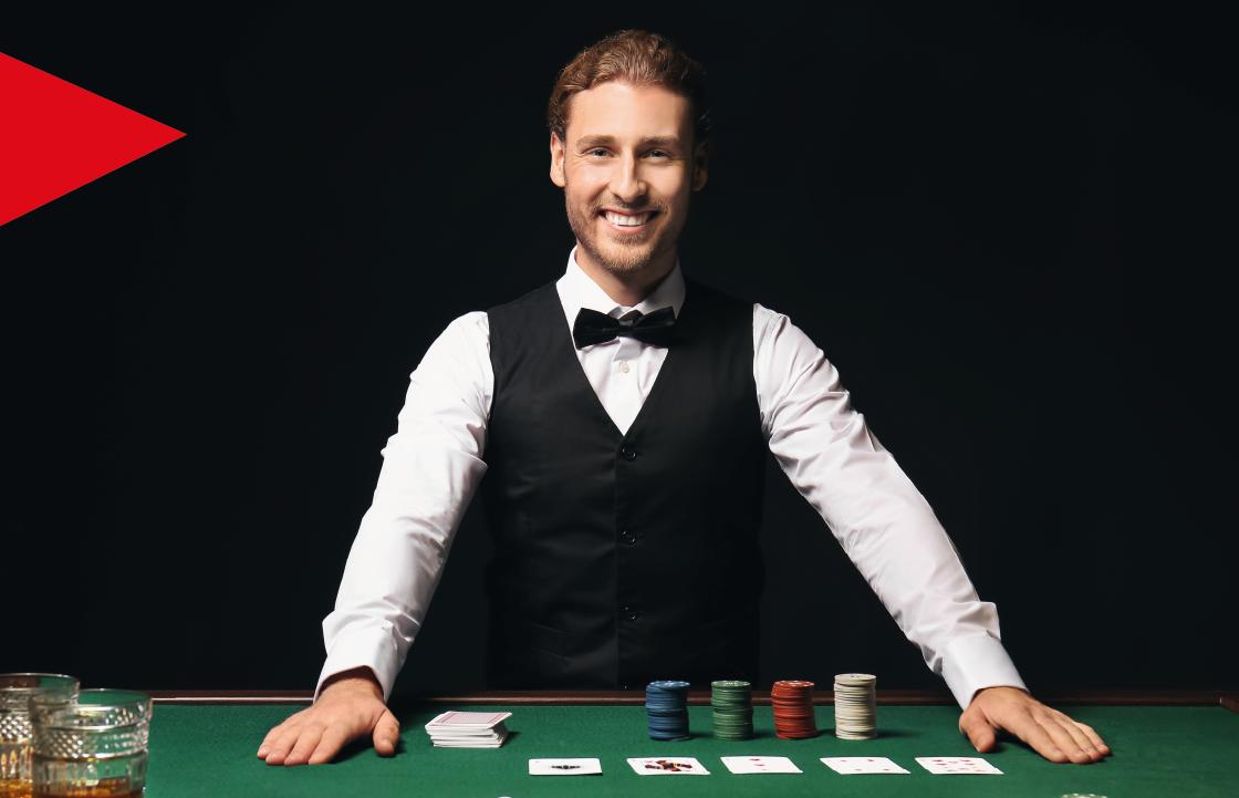 紧张刺激的真人娱乐场游戏体验: 百家乐,21点,轮盘和德州扑克。