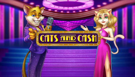 Play'n GOから新ゲーム登場!「Cats and Cash」