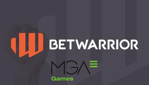 Betwarrior agrega las slots MGA a su plataforma