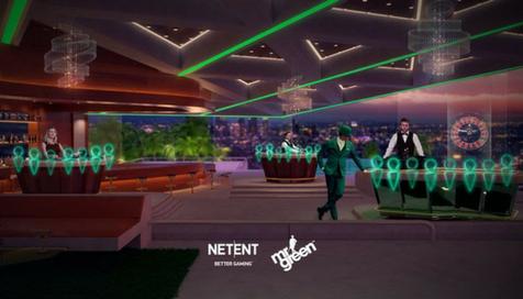 NetEnt y Mr Green revolucionan el casino en Vivo