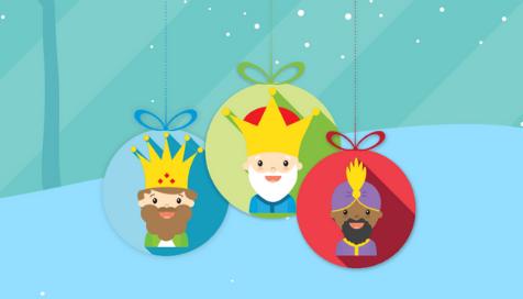 Los Reyes Magos llegan con 400€ a Paf