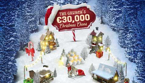 The Grunch's €1,000 Daily Leaderboards and €5,000 Missions at Guts Casino