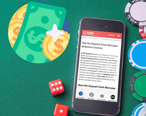 Are you looking for the latest no deposit bonuses to play at online casinos? Check our list, updated daily.