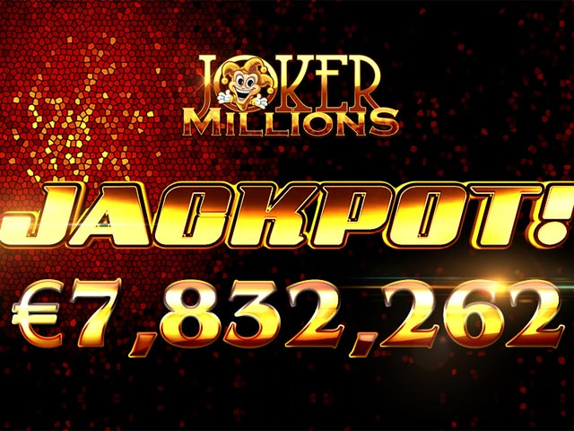 7,8 Millionen Jackpot