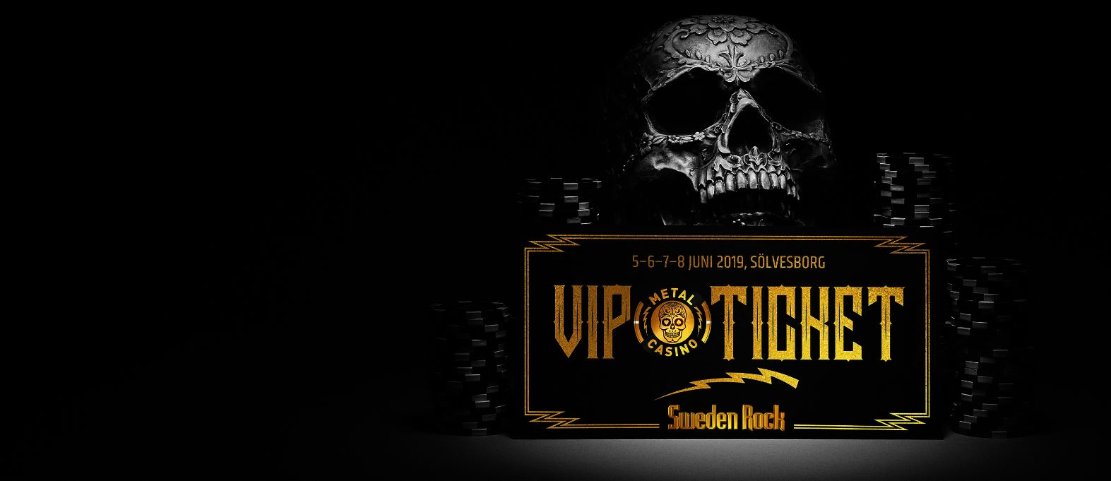 Giveaway från Metal Casino – Sweden Rock VIP-biljetter