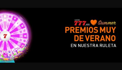 Premios muy de verano en casino777.es