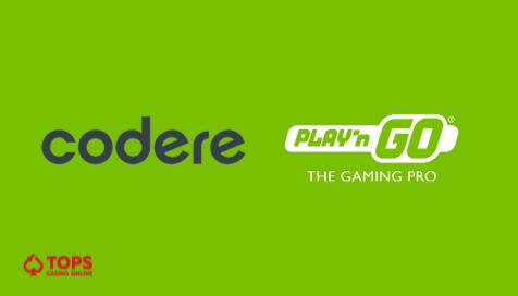 Los juegos de Play'n GO llegan al casino Codere