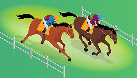 Iniciante: aposte em corridas de cavalo