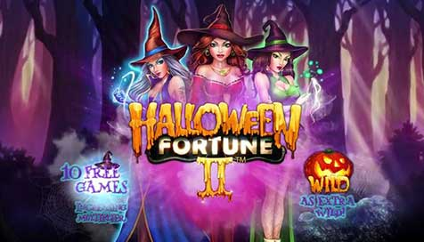 Haunting New Halloween Fortune 2 Slot by Playtech Coming Soon
