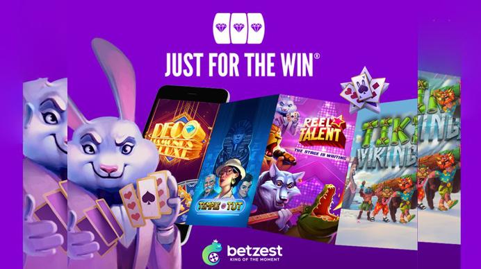 Betzest和Just For The Win达成内容协议,共创游戏玩家高端娱乐体验