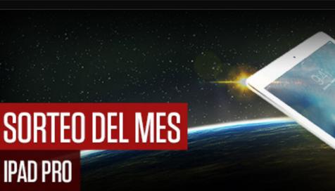 Sorteo de Marzo en Casino777: iPad Pro