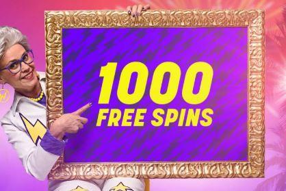 Täglich 1.000 Freispiele im Wildz Casino zu gewinnen