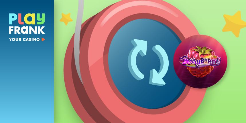 Berryburst -Bonusaktion im PlayFrank Casino