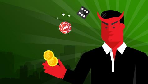Os perigos escondidos em apostas online