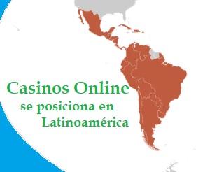 El casino online se posiciona en Latinoamérica
