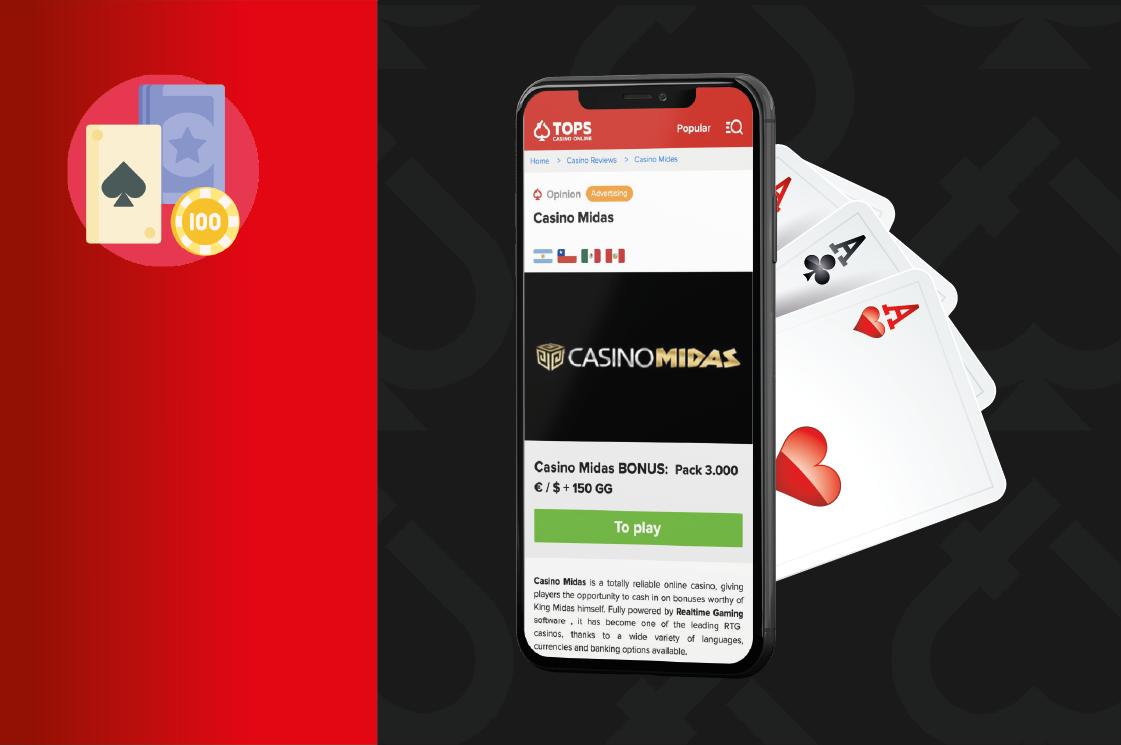 Casino Midas, uno de los mejores casinos online de habla hispana