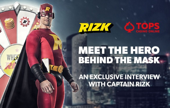 Meet Captain Rizk: Read our Exclusive Interview with Rizk Casino's Superhero!
