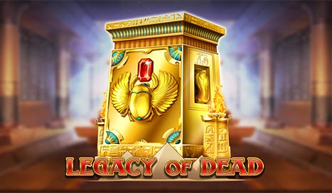 Discover ancient treasures with Legacy of Dead by Play'n GO