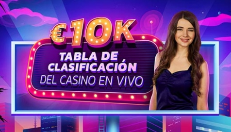Juega en el Casino en Vivo de PokerStars y gana hasta 2500€