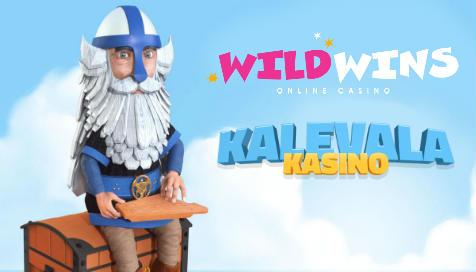 Tutustu uutuuksiimme: Kalevala Kasino ja Wild Wins