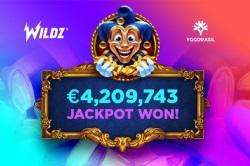 Wildz玩家赢得了改变人生的420万欧元大头奖