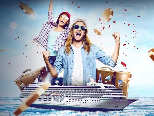 Gewinnen Sie eine Luxus-Kreuzfahrt mit Casino Cruise