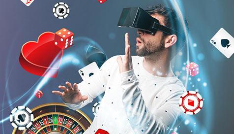 Realidade virtual revoluciona a indústria dos cassinos online