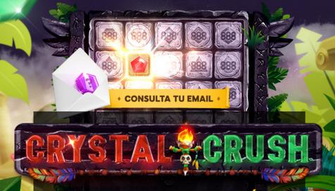 CRYSTALCRUSH ¡Y gana hasta 100€ al día en 888casino!