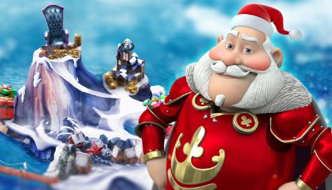 カジ旅限定王国クリスマスアイランド