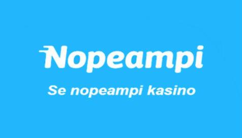Tutustu uuteen kasinoon: Nopeampi.com Casino