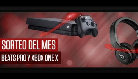 Sorteo de abril en Casino777: Xbox One X y Beats Pro