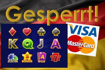 Visa und Mastercard in Online Casinos gesperrt?