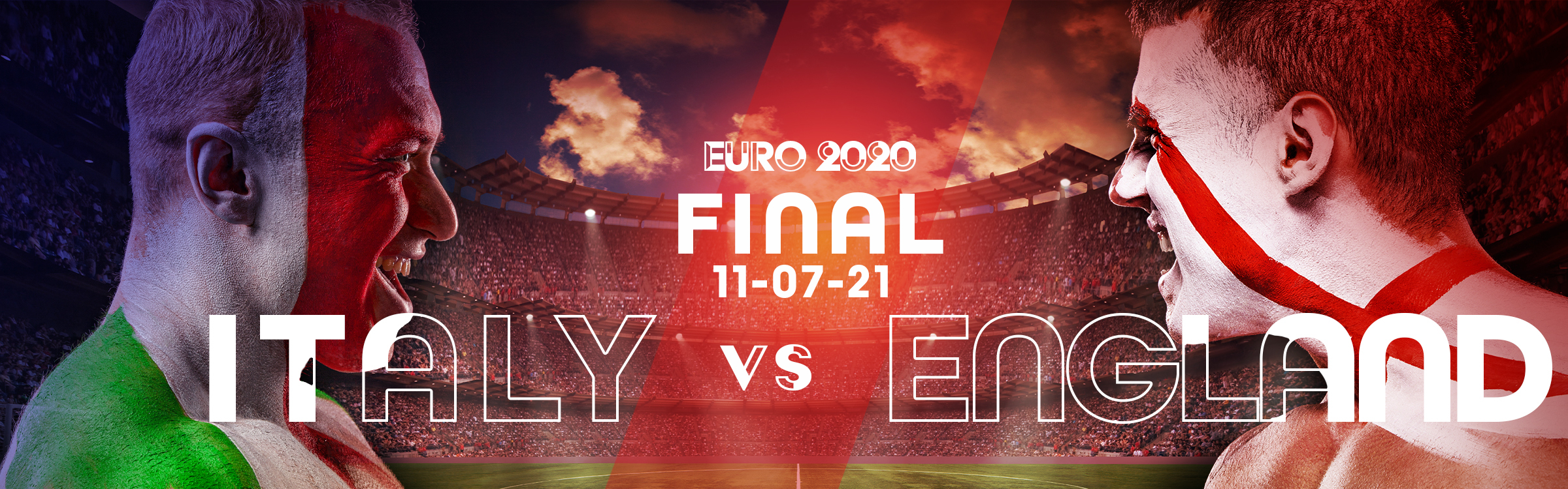 Euro 2020 Final Odds Italy vs England - Who Will Win It?