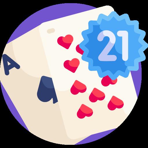 Blackjack 21 ao vivo