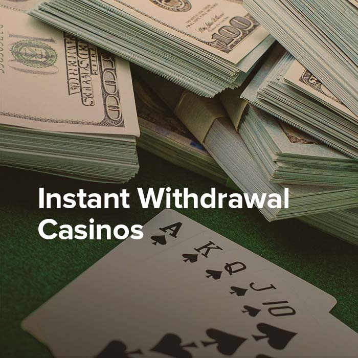 Are you looking to cash out your winnings quickly? Check out these casinos.