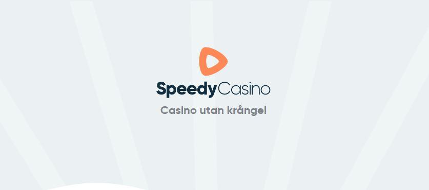 Speedy Casino kör äntligen igång med sin bonus