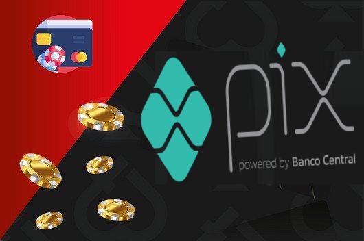 PIX - A forma mais tranquila e segura de depositar e receber seus ganhos.