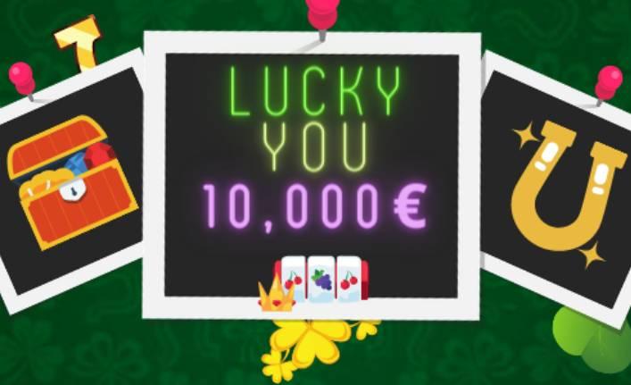 Lucky You -kampanja käynnissä