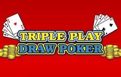 Triple Play Draw Poker